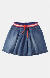 Mini Boden Ribbed Waist Skirt (Little Girls & Big Girls)