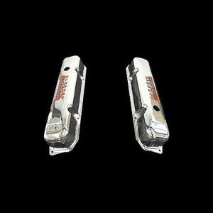 Chrome Valve Covers Fits Big Block Mopar Dodge Engines 383 HP Emblems