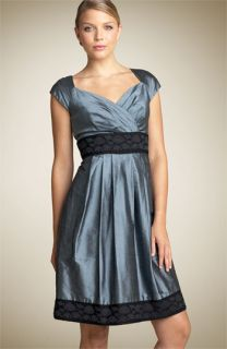 Suzi Chin for Maggy Boutique Empire Waist Silk Dress