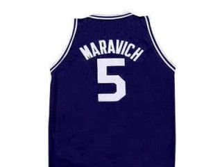 Pete Maravich Daniel High School Jersey Blue New Any Size
