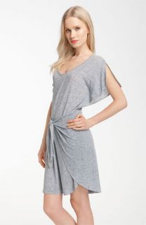 Rebecca Taylor Tie Front Jersey Dress