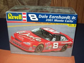 Revell Dale Earnhardt Jr 1 24 Scale Racing Car Monte Carlo Model