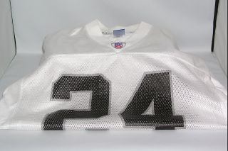 Charles Woodson 24 Reebok L Large Mens NFL Football Jersey