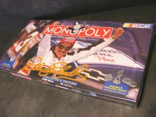 MONOPOLY Dale Earnhardt NASCAR Collectors Edition NEW Sealed Box