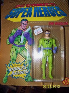 Kenner Batman The Riddler (DC Comics Super Heros) Action Figure