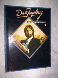 B2 Dan Fogelberg Greatest Hits Songbook Piano Vocal Guitar Song Book