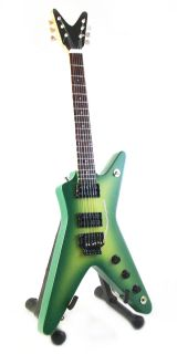 GUITAR DIMEBAG DARRELL DEAN DFH DIME SLIM ML GREEN CUSTOM *FREE STAN
