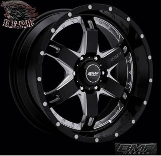 BMF Repr 20x9 Death Metal Black Wheels 6x135 Ford F 150 Expedition
