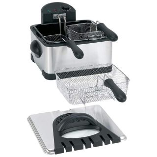 Maxam 4Qt Electric Deep Fryer in Fryers