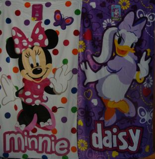 100 Cotton Beach Towels Minnie Mouse Daisy Duck 34 x 64