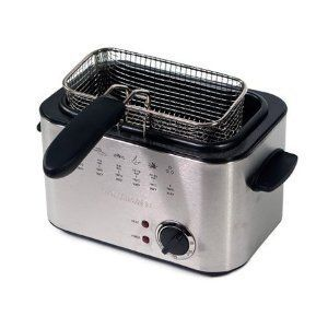 NEW Home Image 1 2L Electric Deep Fryer Basket
