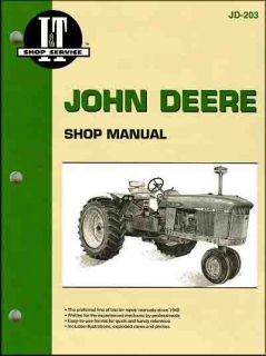 John Deere Tractor Repair Shop Manual 3010 3020 4000 4010 4020 4320