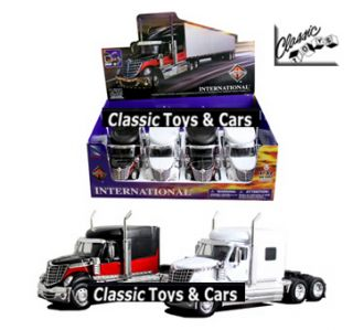 Semi Trailer Truck Rig Diecast Model 1 32 New Ray 11 Inch