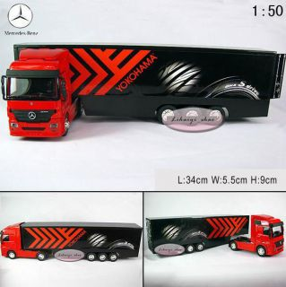 Benz Giant Container Trucks 1 50 Diecast Model Car B061