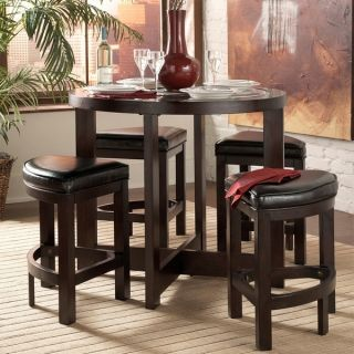 New Home Decor Dining Room Furniture 5 Piece Counter Height Table