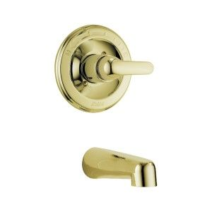 Delta Classic Monitor® 13 Series Tub Trim T13120 PBLTS Polished Brass