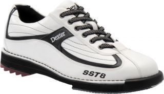 Dexter Men SST 8 White Leather Bowling Shoes