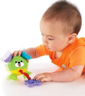 New Fisher Price Tug Giggle Puppy Baby Develop Toys