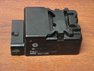 1990 Dodge Ramcharger Intermittent Wiper Control Relay Module 4503 104