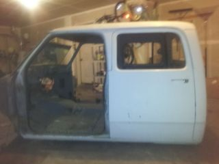 81 Dodge Power RAM Crew Cab Shell and Rear Doors