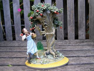 RARE Franklin Mint Dorothy Tree Wizard of oz Sculpture