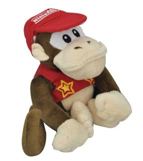 Super Mario Bros Plush Toy Stuffed Donkey Kong Monkey