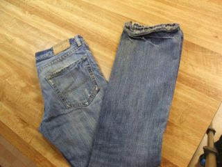 Hollister Destroyed Low Rise Slim Boot Cut Jean 30 32