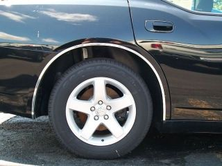 2005 2011 Dodge Charger Chrome Wheel Well Fender Trim Moldings 4pc 5yr