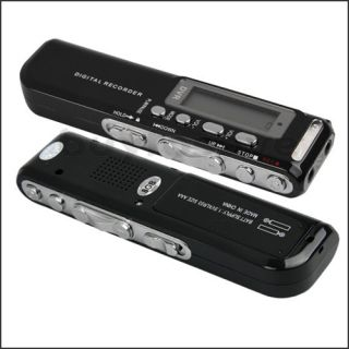 Digital Spy Audio Voice Recorder Video Dictaphone  Player