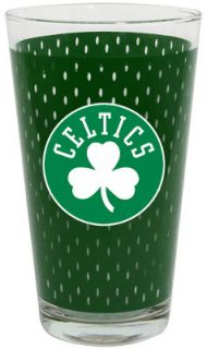 Boston Celtics NBA Basketball Sports Jersey Style Drinking Pint Glass