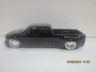 1999 Chevy Silverado Dooley Black Bigtime Kustoms Dub City 1 24 Jada