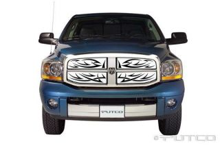 PUTCO STAINLESS TRIBE GRILLE INSERT 2006   2008 DODGE RAM PICKUP