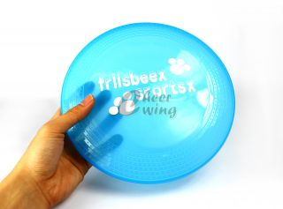 23cm Soft Dog Pet Toy Flying Disc Pet Dog Frisbee Colorful