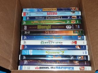 Lot 13 Disney Dreamworks Family DVDs FOX HOUND ENCHANTED BROTHER BEAR