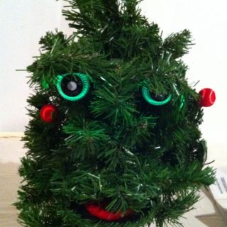 Douglas Fir the Talking Christmas Tree * Animated sing * Gemmy 1996