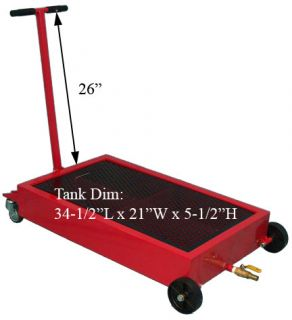 15 gallon low profile heavy truck oil drain