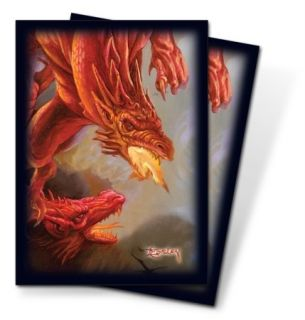 50 Easley Dragon MTG Deck Protectors Card Sleeves Magic