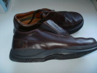 Timberland Mens Smart Comfort System Brown Leather Laced Shoes Size 8M