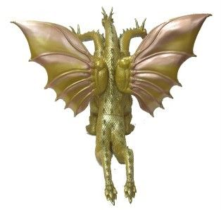 KING GHIDORAH VINYL FIGURE BOX Mothra 3 King Ghidorah Attacks
