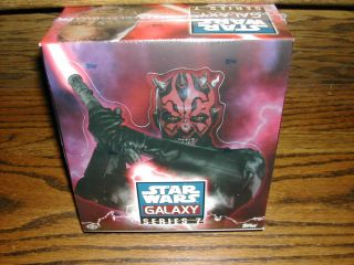 2012 Topps Star Wars Galaxy 7 Factory SEALED Trading Card Hobby Box