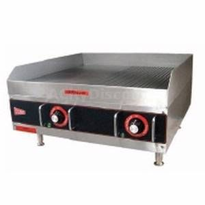 Electric Griddle 24x24 Heavy Duty Countertop Flat Grill