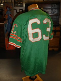 1960s Eau Claire Football Game Worn Jersey Columbia SC Spanjian