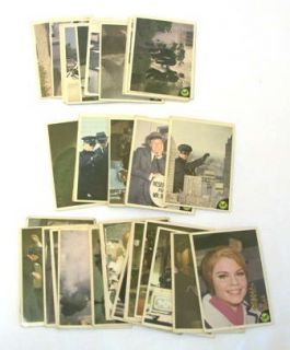 1966 Donruss GREEN HORNET TV Series Trading Cards and Stickers No Dupe