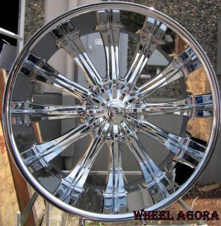WHEELS RIMS TIRE CUTLASS BMW 5X120 65 CHEVELLE RANGE ROVER EL CAMINO
