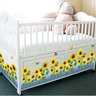 Sunflower Butterfly Wall Sticker Vinyl Art Decal 326