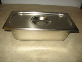 Stainless Steel Commercial Grade Steam Table Buffet Catering Food Pan
