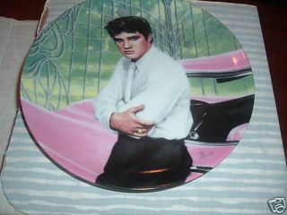 Elvis at The Gates of Graceland Delphi Collector Plate