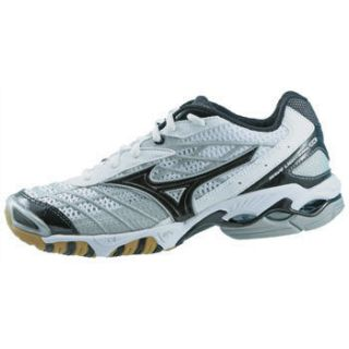 New Mizuno Menss Wave Lightning RX Volleyball Shoe White Black