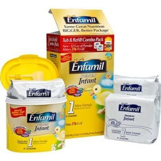 Enfamil Premium 105 Oz w Iron Baby Infant Formula Powder 0 12 Month