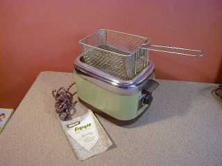 Vintage 1950s Nesco Fryryte Electric Deep Fryer